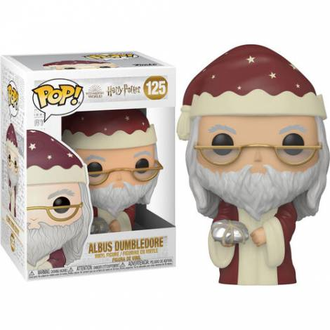 Funko POP! Harry Potter: Holiday - Albus Dumbledore #125 Vinyl Figure