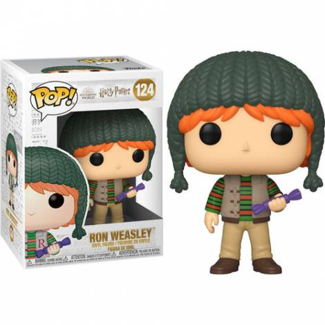 Funko POP! Harry Potter: Holiday - Ron Weasley #124 Vinyl Figure