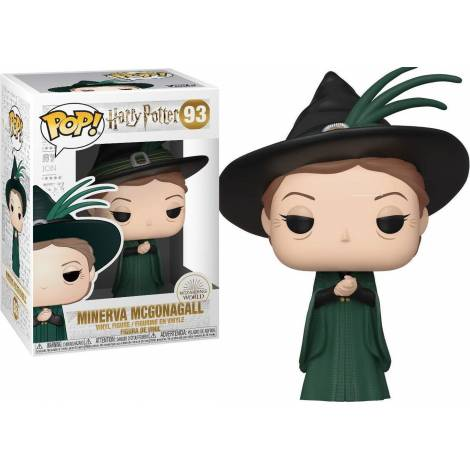 Funko POP! Harry Potter - Minerva McGonagall (Yule) #93 Vinyl Figure