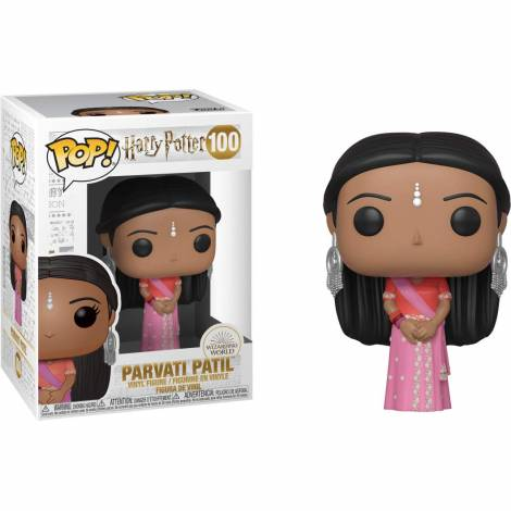 Funko POP! Harry Potter - Parvati Patil (Yule) #100 Vinyl Figure