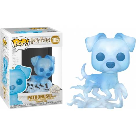 Funko POP! Harry Potter - Patronus Ron Weasley #105 Vinyl Figure