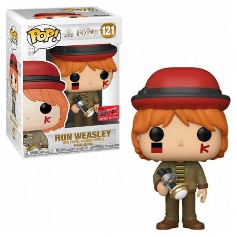 Funko POP! Harry Potter : Ron Weasley At World Cup (Exclusive Limited Edition) #121 Vinyl Figure