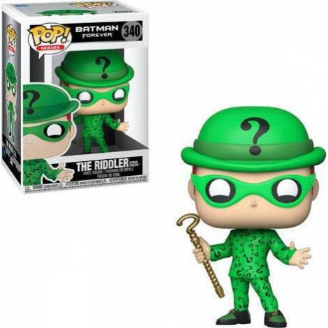Funko POP! Heroes: Batman Forever - Riddler #340 Vinyl Figure