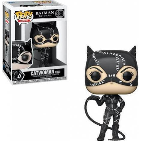 Funko POP! Heroes: Batman Returns - Catwoman #338 Vinyl Figure