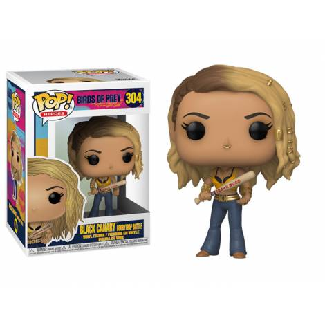 Funko POP! Heroes: Birds Of Prey - Black Canary (Boobytrap Battle) #304 Vinyl Figure