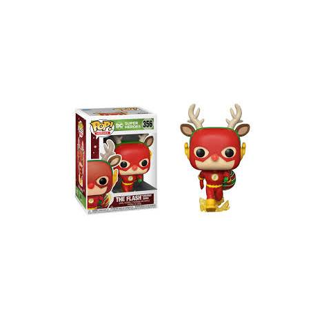 Funko POP! Heroes : DC Holiday - Rudolph Flash #356 Vinyl Figure