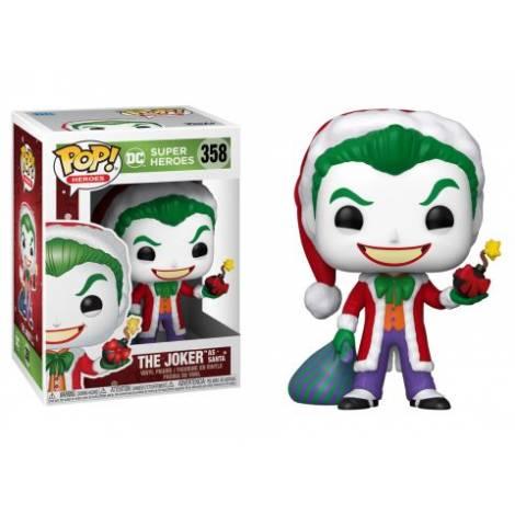 Funko POP! Heroes: DC Holiday - Santa Joker #358 Vinyl Figure