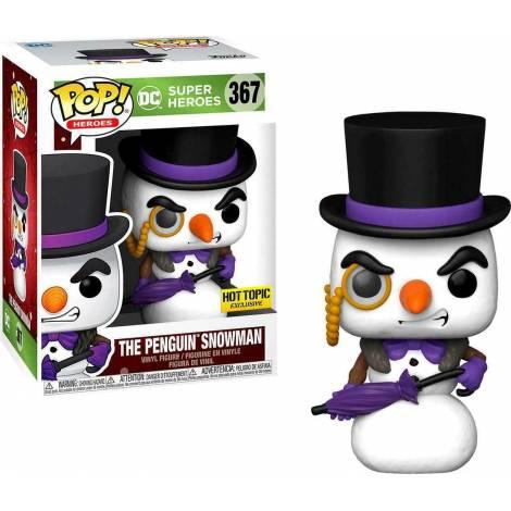 Funko POP! Heroes : DC Holiday Super Heroes - The Penguin Snowman (Special Edition) #367 Vinyl Figure - με χτυπημένο κουτάκι