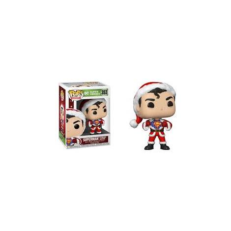 Funko POP! Heroes : DC Holiday - Superman With Sweater #353 Vinyl Figure
