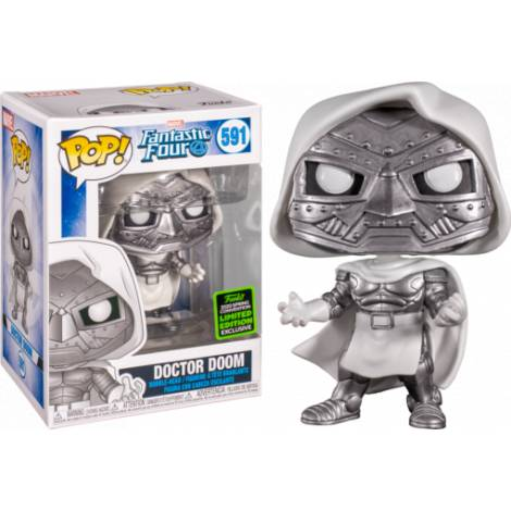 Funko POP! Heroes : Fantastic Four - Doctor Doom #591 Vinyl Figure (Limited Edition)