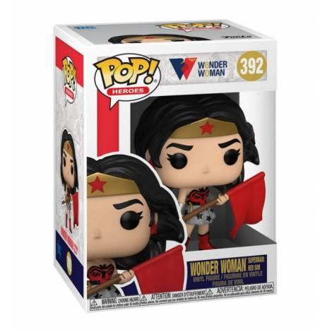 Funko POP Heroes: WW 80th - Wonder Woman (Superman: Red Son) #392 Vinyl Figure