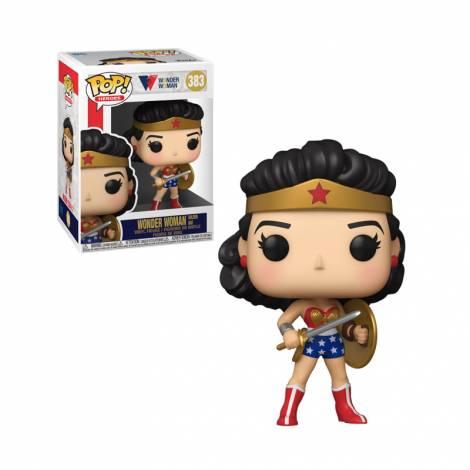 Funko POP! Heroes: WW80th - Wonder Woman (Golden Age) #383 Vinyl Figure
