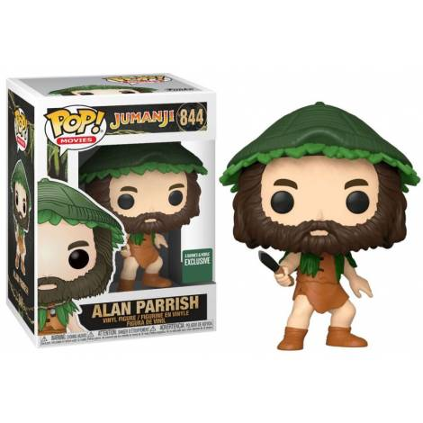 Funko POP! Jumanji - Alan Parish #844 Vinyl Figure (Special Edition)