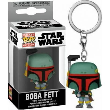 Funko POP! Keychain: Star Wars - Boba Fett Vinyl Figure