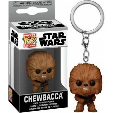 Funko POP! Keychain: Star Wars - Chewbacca Vinyl Figure