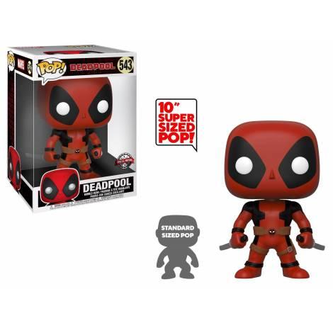 Funko PoP! Marvel : 25cm Deadpool w/Swords #543 - New - Ανοικτό κουτάκι