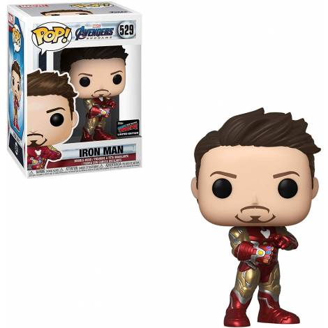 Funko POP! Marvel Avengers End Game - Iron Man (Gauntlet) (2019 Fall CON Limited Edition) #529 Bobble-Head Vinyl Figure