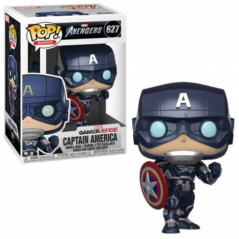 Funko POP! Marvel: Avengers Game - Captain America  #627 Vinyl Figure