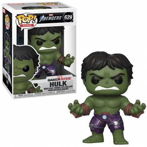 Funko POP! Marvel: Avengers Game - Hulk (Stark Tech Suit) #629 Vinyl Figure