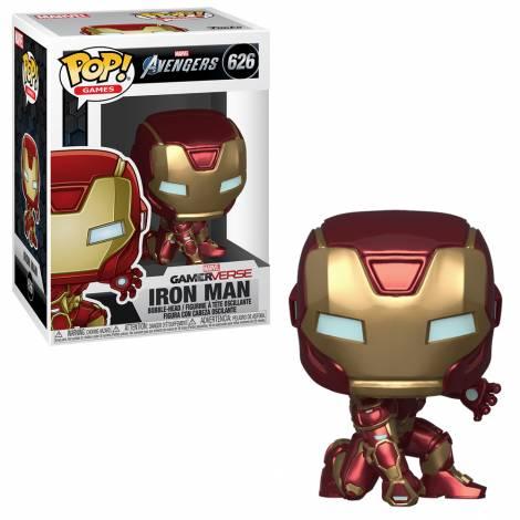 Funko POP! Marvel: Avengers Game - Iron Man (Stark Tech Suit) # 626 Vinyl Figure