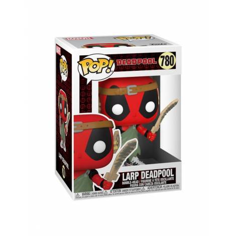 Funko POP! Marvel: Deadpool 30th - Larp Deadpool #780 Vinyl Figure