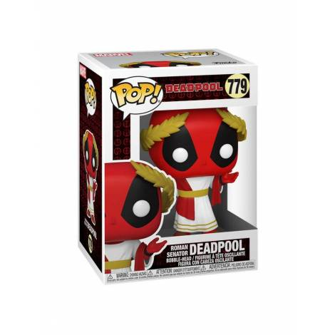 Funko POP! Marvel: Deadpool 30th - Roman Senator Deadpool #779 Vinyl Figure