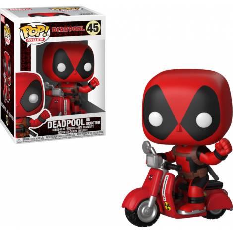Funko POP! Marvel: Deadpool - Deadpool on Scooter #48 Bobble-Head Figure