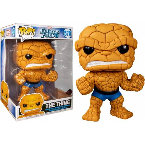 Funko POP! Marvel: Fantastic Four -  The Thing 25cm (Special Edition) #570 Bobble-Head Vinyl Figure