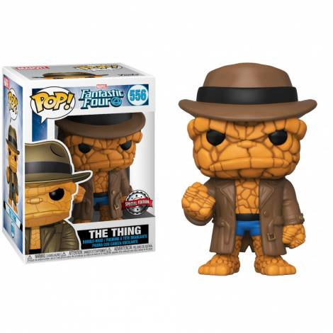 Funko POP! Marvel: Fantastic Four - The Thing (Disguised) (Special Edition) #556 Bobble-Head Vinyl Figure