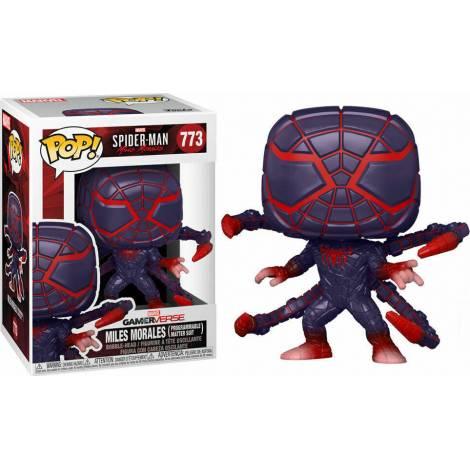 Funko POP! Marvel Gamerverse : Spider-Man - Miles Morales (Programmale Matter Suite) #773 Bobble-head Vinyl Figure