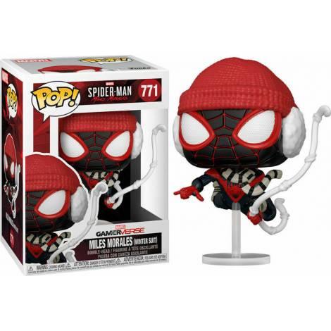 Funko POP! Marvel Gamerverse : Spider-man - Miles Morales (Winter Suit) #771 Bobble-Head Vinyl Figure