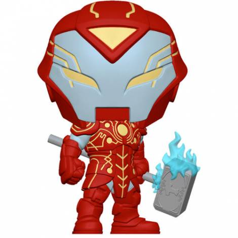 Funko POP Marvel: Infinity Warps- Iron Hammer Vinyl Figure