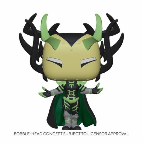 Funko POP Marvel: Infinity Warps- Madame Hel Vinyl Figure