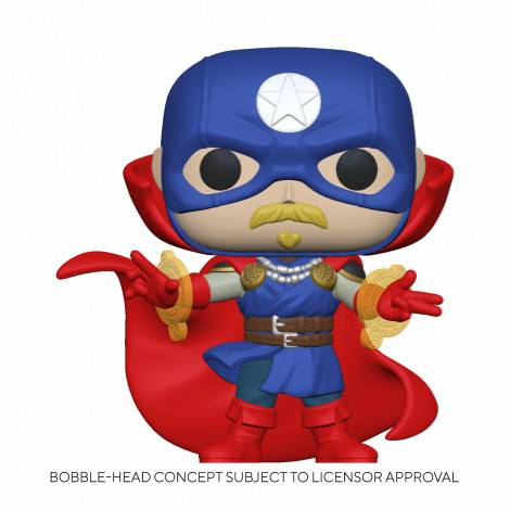 Funko POP Marvel: Infinity Warps- Soldier Supreme Vinyl Figure