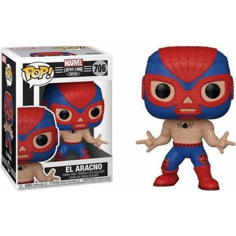 Funko POP! Marvel: Lucha Libre Edition - El Aracno #706 Bobble-Head Vinyl Figure