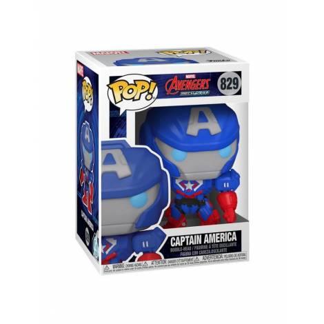 Funko POP! Marvel: Marvel Mech - Captain America #829 Vinyl Figure