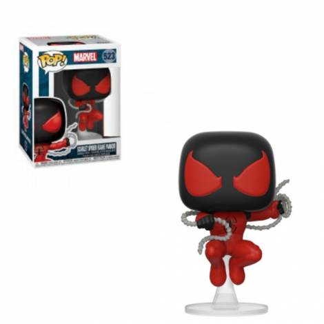 Funko POP! Marvel: Scarlet Spider #523 Vinyl Figure