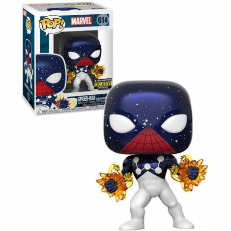 Funko POP! Marvel - Spider-Man [Captain Universe] (Special Edition) #614 Bobble-Head Vinyl Figure