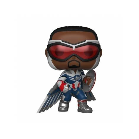 Funko POP! Marvel Studios : The Falcon And The Winter Soldier - Captain America #819 Vinyl Figure (Special Edition) - με χτυπημένο κουτάκι