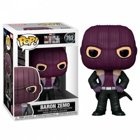 Funko POP! Marvel The Falcon & The Winter Soldier - Baron Zemo #702 Vinyl Figure
