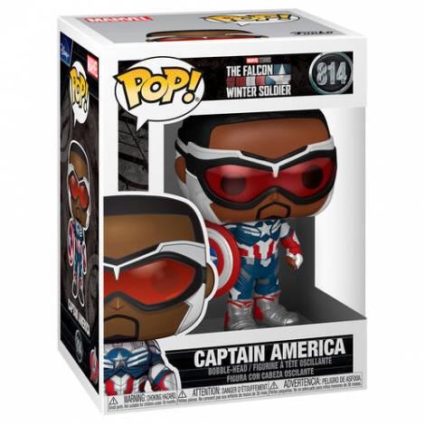 Funko POP! Marvel: The Falcon & Winter Soldier - Captain America #814 Vinyl Figure