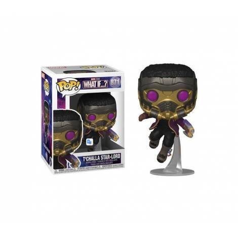 Funko POP! Marvel: What If...? - T'Challa Star-Lord #871 Bobble-Head (55812)