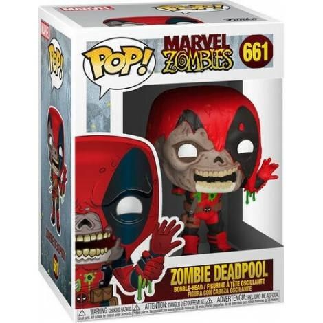 Funko POP! Marvel Zombies - Zombie Deadpool #661 Bobble-Head Vinyl Figure