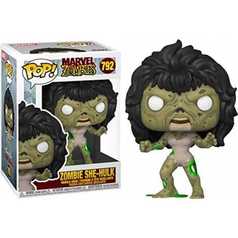 Funko POP! Marvel Zombies - Zombie She-Hulk (Special Edition) #792 Bobble-Head Vinyl Figure - Mε χτυπημένο κουτάκι