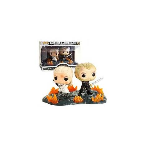 Funko POP Moment: Game of Thrones-Daenerys & Jorah B2B w/Swords Collectible Figure