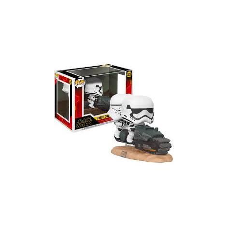 Funko POP! Movie Moment: Star Wars Ep 9 - First Order Tread Speeder #320 Vinyl Figure