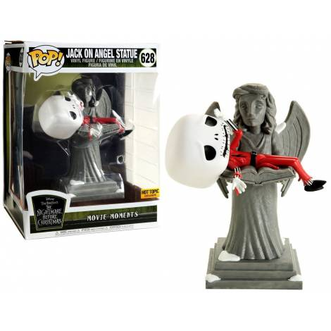 Funko POP! Movie Moment: The Nightmare Before Christmas - Jack on Angel Statue (Special Edition) #628 Vinyl Figure