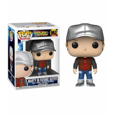 Funko POP! Movies: Back To The Future S4 - Marty In Future Outfit #962 Vinyl Figure - με χτυπημένο κουτάκι