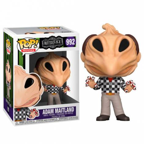 Funko POP! Movies: Beetlejuice - Adam Transformed #992 Vinyl Figure