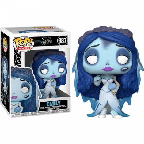 Funko POP! Movies: Corpse Bride - Emily #987 Vinyl Figure